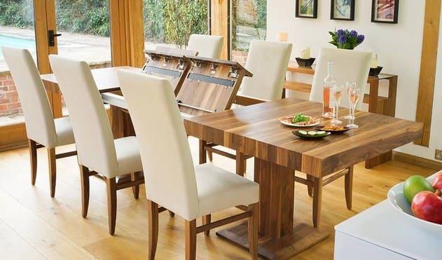 Раздвижные обеденные столы
