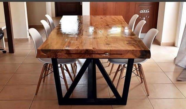 Прямоугольные обеденные столы