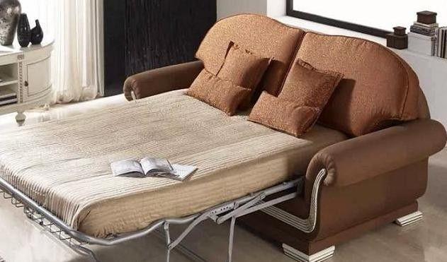 Раскладные двухместные диваны