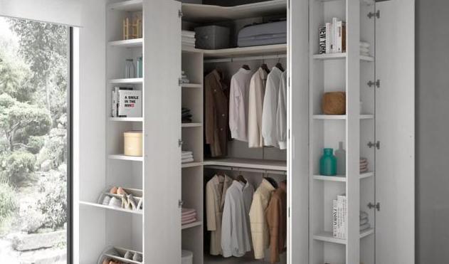 деревянный шкаф для белья